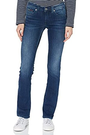 Tommy Hilfiger Women's Mid Rise Sandy Straight Jeans