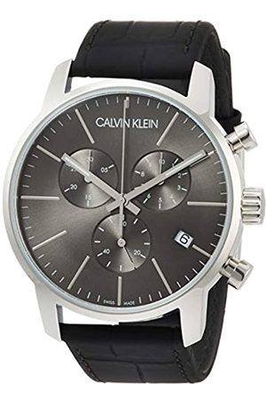 Calvin Klein Men's Chronograph Quartz Watch with Leather Strap – K2G271C3