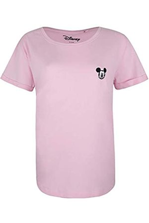 Disney Women's Mickey FACE EMB T-Shirt