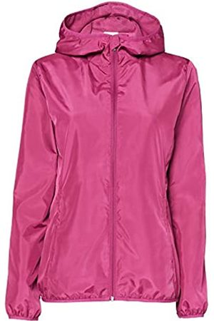 CARE OF by PUMA Women's Water Resistant Windbreaker Jacket, (Magenta)
