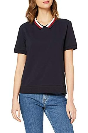 Tommy Hilfiger Women's Abby Relaxed Polo SS Shirt