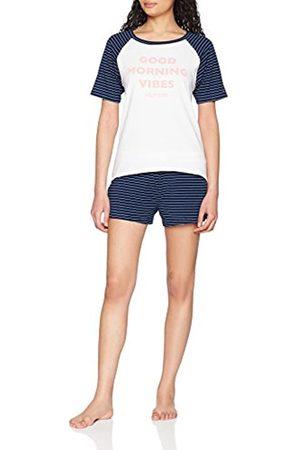 Tommy Hilfiger Women's Ss Short Set Stripe Pyjama, ( / Print 089)