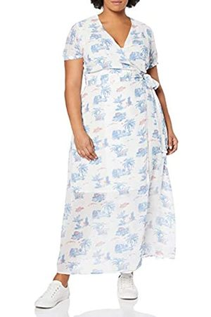 Glamorous Women's Floral WRAP Over Curve Summer Dress