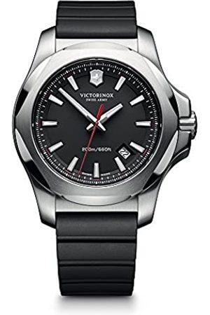 Victorinox Men's Analogue Swiss Quartz Watch with Rubber Strap – 241682.1