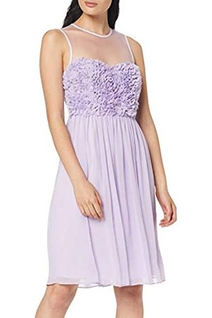 Apart Women's Chiffon Dress with Flowers Party