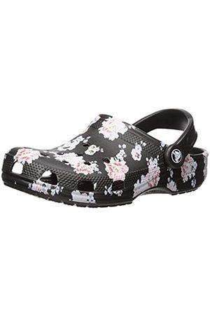 Crocs Unisex Adults' Classic Printed Clog U Water Shoe, Floral/