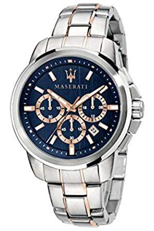 Maserati Men's Watch, Successo Collection, Quartz Movement, with Chronograph