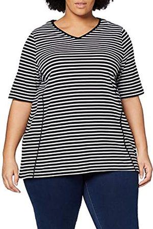 ULLA POPKEN T-Shirt V-Ausschnitt Donna