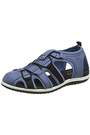 Geox Women's D Vega C Closed Toe Sandals, (Denim C4008)