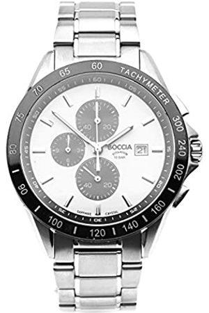 Boccia Mens Chronograph Quartz Watch with Titanium Strap 3751-03