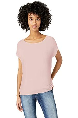 Daily Ritual Women's Supersoft Terry Dolman Short-Sleeve Tie-Back Shirt