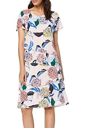 Gerry Weber Women's 180041-31591 Dress, (Rosa/Ozean/Sun Druck 3137)
