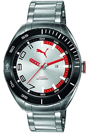 PUMA TIME PUMA Octane II Men's Quartz Watch with Dial Analogue Display and Stainless Steel Strap PU103951004