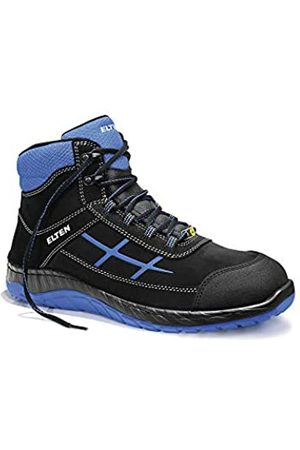 ELTEN Men's Malvin Mid ESD S3 Safety Trainers, (Blau 4)