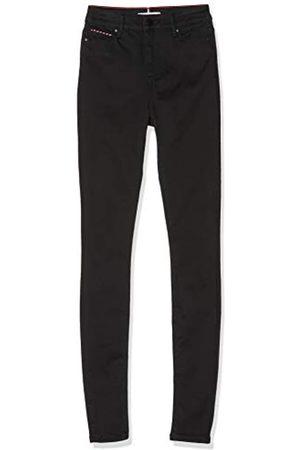 Tommy Hilfiger Women's Harlem Ultra Skinny HW Straight Jeans