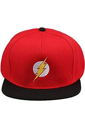 DC Comics Men's Flash Logo Snapback Hat Beanie