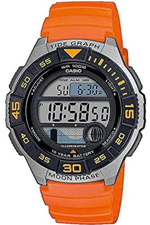 Casio Men's Digital Quartz Watch with Plastic Strap WS-1100H-4AVEF