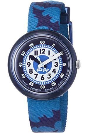 Flik Flak Boys' Analogue Quartz Watch with Textile Strap FPNP017