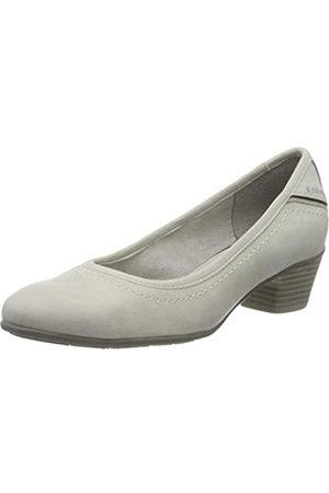 s.Oliver Women's 5-5-22301-34 Closed-Toe Pumps, (Cloud 807)