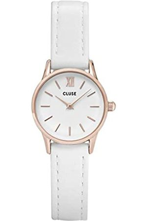 Cluse Womens Analogue Classic Quartz Watch with Leather Strap CL50030