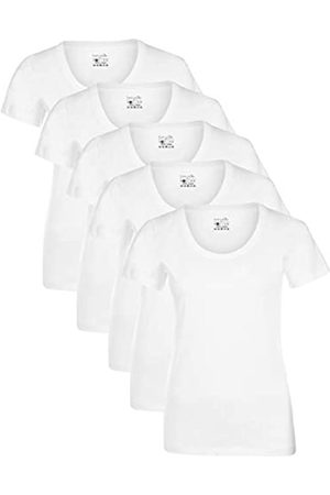 Berydale Für Sport & Freizeit, Rundhalsausschnitt T-Shirt, Weiß), Medium