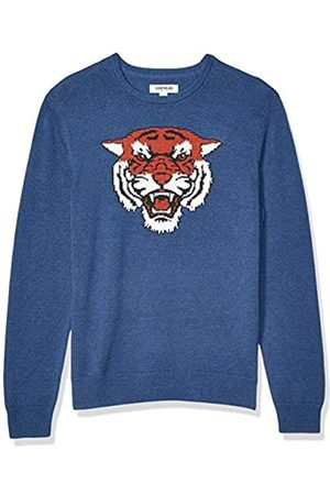 Goodthreads Soft Cotton Graphic Crewneck Sweater Cougar