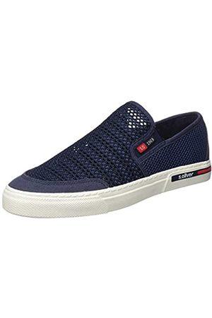s.Oliver Men's 5-5-14601-24 Loafers, (Navy 805)