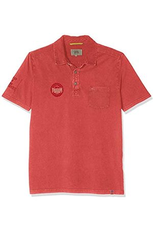 camel active Men's Polo 1/2 Jersey Shirt
