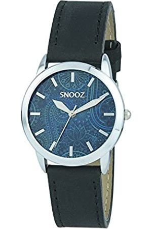 Snooz Women's Analogue Quartz Watch with Leather Strap Saa1040-71