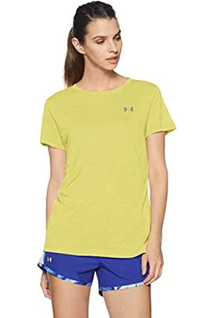 Under Armour Women's Camiseta Ua Microthread Train Twist Shirt, Tyl/STL