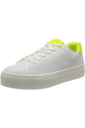 MARCO TOZZI Women's 2-2-23764-34 Low-Top Sneakers, ( /Neon YEL 132)