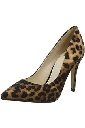 Buffalo Women's Ferelle Closed-Toe Pumps, (Leopard 001)