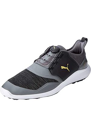 Puma Hombre Ignite Nxt Disc Zapatos de Golf, Negro (Quiet Shade Team 02)