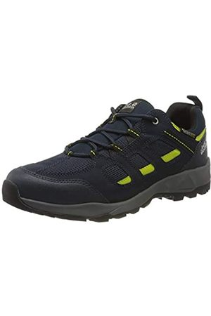 Jack Wolfskin Men's Vojo Hike Xt Vent Low M Rise Shoes, (Dark /Lime 1184)