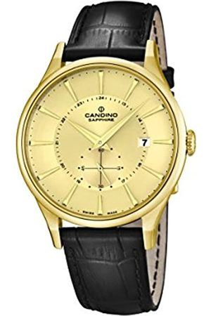 Candino Men's Quartz Watch with Dial Analogue Display and Leather Strap C4559/2