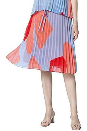 Apart Women's Printed Plissee Skirt