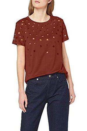 Scotch&Soda Maison Women's Short Sleeve Burnout Tee T-Shirt