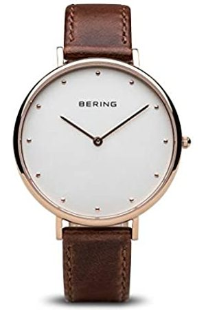 BERING Women's Analogue Quartz Watch with Leather Strap 14839-564