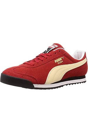 Puma Unisex Adults' Roma Suede Trainers, High Risk -Summer Melon