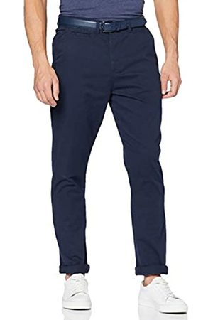 """Jacamo Men's Smart Belted Chino 33"""" Long Trousers"""