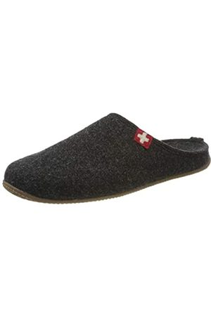 Living Kitzbühel Mens Slippers Swiss Cross Men's Low-Top Slippers,12.5 UK