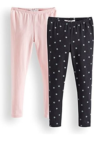RED WAGON Girls Full Length Printed Leggings Brand Pack of 4