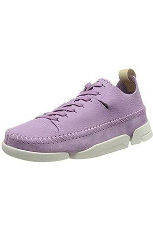 Clarks Women's Trigenic Flex. Low-Top Sneakers, (Lavender NBK Lavender NBK)