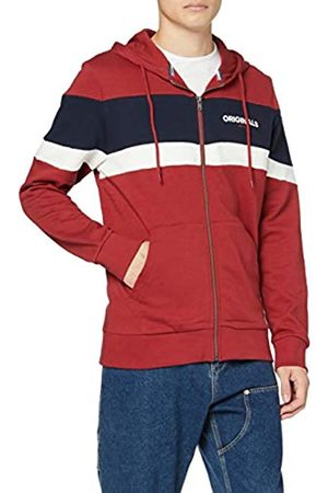 Jack & Jones Men's Jornewshakedown Block Sweat Zip Hood Track Jacket