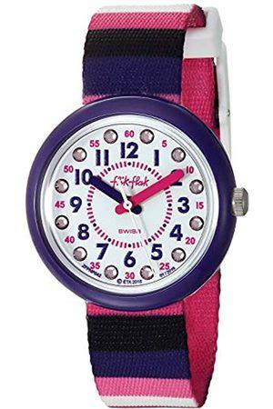 Flik Flak Girls Analogue Quartz Watch with Textile Strap FPNP042