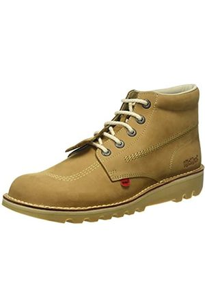 Kickers Men Kick Hi-Core Ankle Boots, (Tan/LT Cream)
