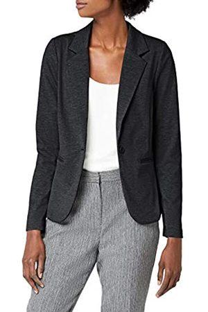 Ichi Women's KATE BL Long Sleeve Blazer, Grau (Dark Melange 10021)