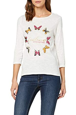 Springfield Long Sleeve T-shape With Positional Print T-Shirt Women's Large (Manufacturer's size:L)