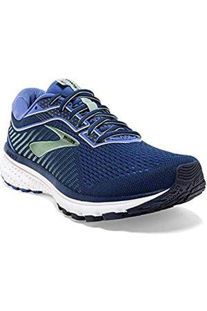 Brooks Women's Ghost 12 Running Shoes, (Peacoat/ /Aqua 413)