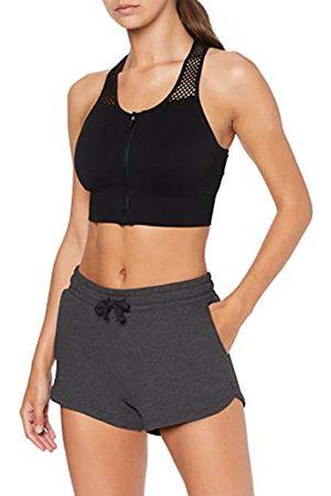 AURIQUE Amazon Brand - Women's Gym Shorts, 14